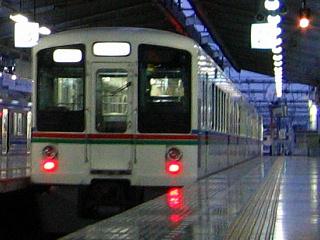 武蔵丘ゆき回送発車2