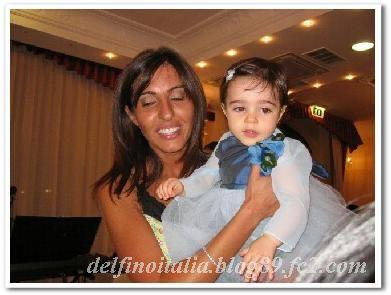 イタリア女性とバンビーナ bella mamma