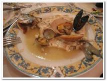 イタリア料理 Orata a limone con frutti di mare
