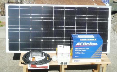 26 ソーラー電気開梱1式