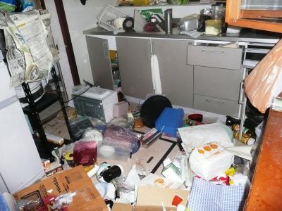 12地震T宅ガチャキッチン