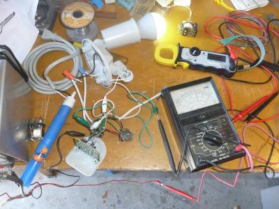 12ソーラーセンサーライト改造2