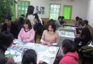 パステルアート教室