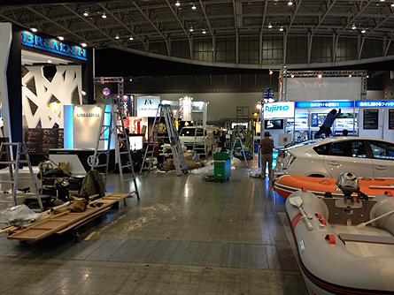 国際フィッシングショー2012横浜速報搬入4