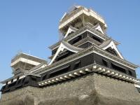 熊本城の補修工事