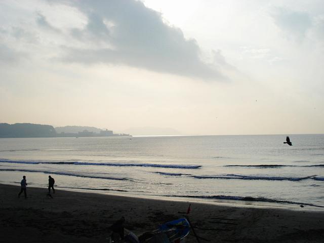 2006年12月の由比ガ浜