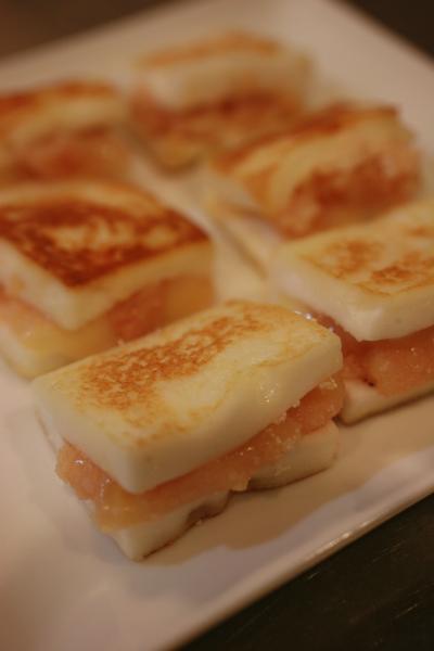 はんぺんたらこチーズ