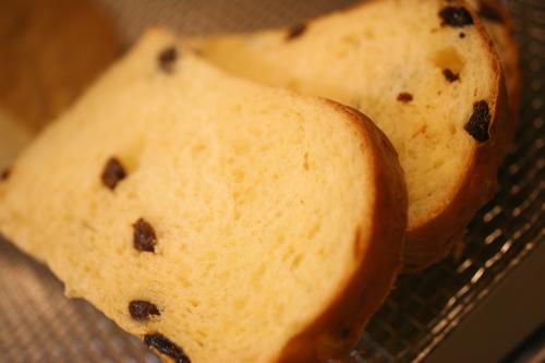 レーズン山型食パン2