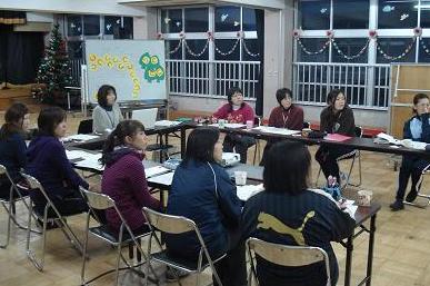 鳥取第三幼稚園での様子だよ。