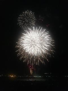 港の花火①