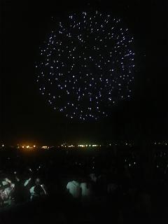 港の花火②