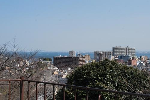 三井寺からの眺め