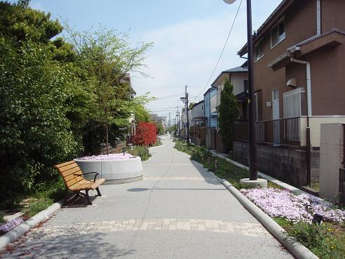北沢川緑道2