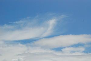 山は秋・雲6