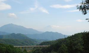 富士山を望む54