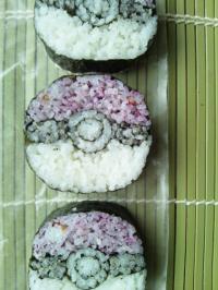 飾り巻き寿司。