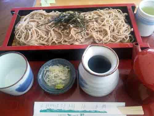 梓川SA地の粉蕎麦