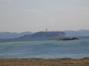 江の島アップ