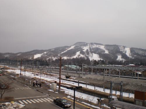 人工スキー場
