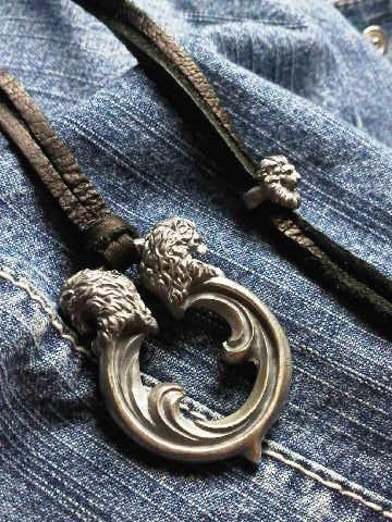 double lions knob handle choker polish