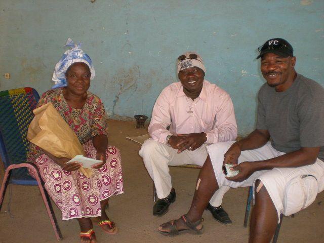 Braman 母,Dramaneさん Mamadouさん