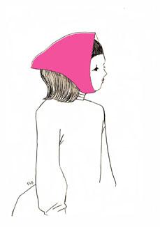 ピンクのおんな