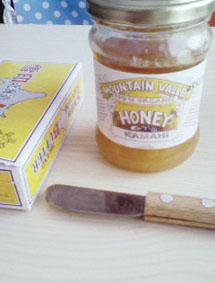 ハチミツバター