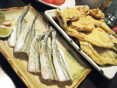 サヨリ料理1