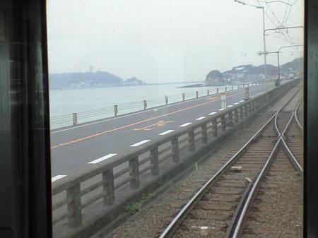 江ノ電~海岸