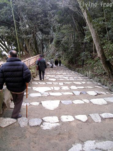 2008.1多賀参り 彦根階段