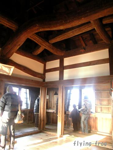 2008.1多賀参り 彦根城はり