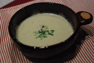 牡蠣と大根のポタージュスープ