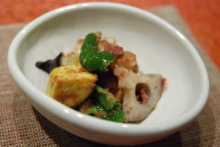 旬野菜のおかか和え (2)