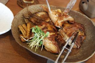 鯛アラ煮1