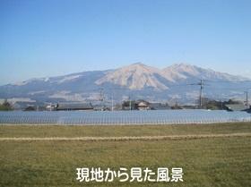 南阿蘇村河陰風景写真