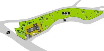芦北町米田配置図