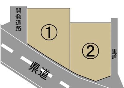 菊陽町新山1丁目区画図