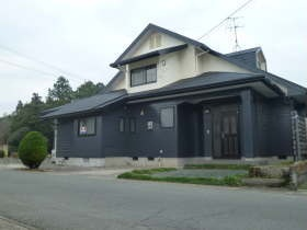 菊陽町原水オープンハウス家