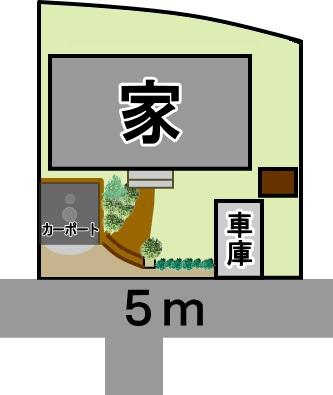平山配置図