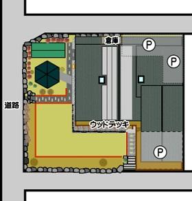 南阿蘇村一関配置図