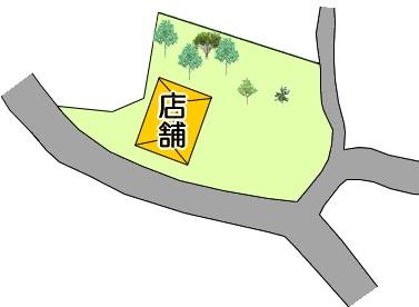 西原村店舗配置
