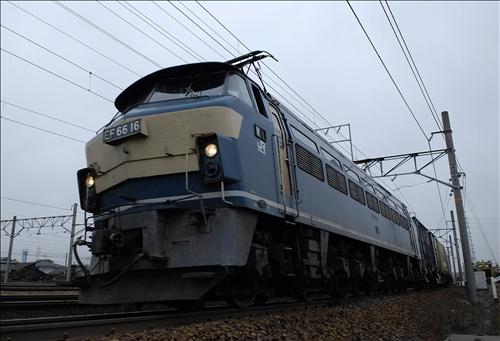 1056レ(?)  EF66-16