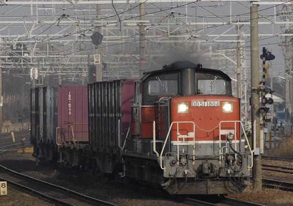 1350レ  DD51-1804