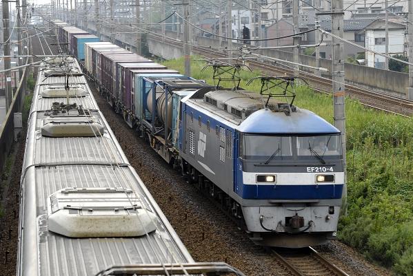 1083レ  EF210-4