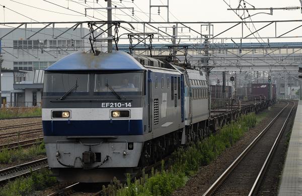 1250レ  EF210-14+EF66-?