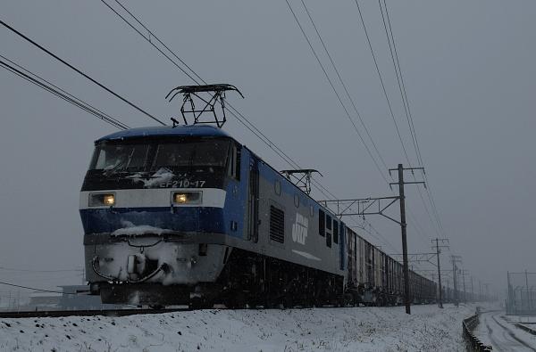 1076レ  EF210-17号機