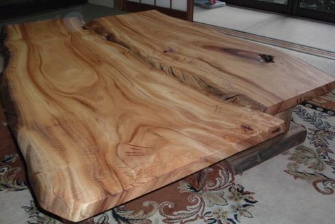 テーブル天板 (オーダー品)~ T 宅 納品。