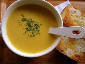 にんじんのポタポタスープ