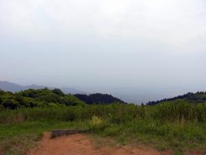 山頂の高原