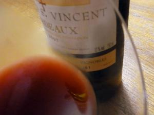 ワインをやります♪